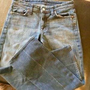 """7 for all mankind """"flynt"""" jeans  EUC sz 27"""